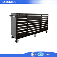 Garage Used Multi-Drawer Steel Tool Storage Workbench/tool cabinet and wirkbench