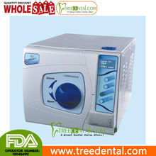Tr-sun23-ii-l 23L Dental Autoclave esterilizador a vapor de presión de vacío, clase b, con pantalla lcd, Autoclave marcas