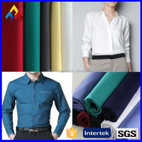 Wholesale promotional 65 polyester 35 cotton shirt fabric