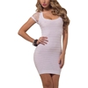 sex women in tights pictures sheer seamless circular laser cut-out ribbed horizontal slim dress bundles of clothing wholesale