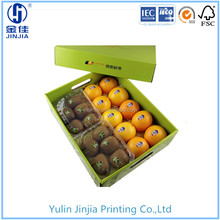 OEM professional printed corrugated cardboard box for fruit