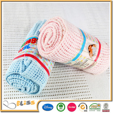 SEDEX And BSCI High Quality Can Be Portable Cotton Baby Blanket Cotton Fabric