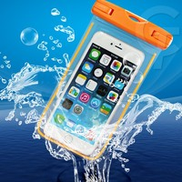 2015 New Fancy night light 5.7inch pc pvc phone waterproof case for iphone 6 & 6 plus s6,s6 edge note 4