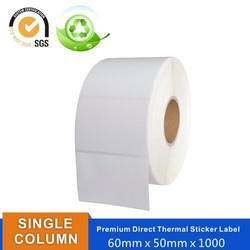Printing Labels clear waterproof labels direct thermal adhesive label