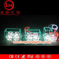 small train 3d motif lights,high quality decoration lights,CE,ROSH Approve