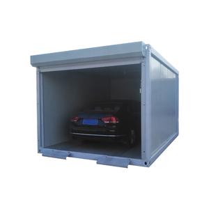 Novo design do galpão de armazenamento recipiente de 40ft elevado do cubo para o Carro