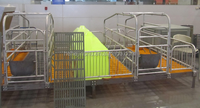 high grade material pig pen sow farrowing cage