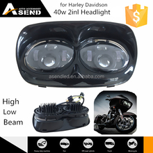 New arrival China factory 45w 2inl led headlight with High Low beam for Harley Davidson motorycle led headlamp