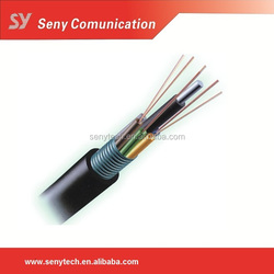 12 core China outdoor single mode fiber optical cable GYTS, GYTA