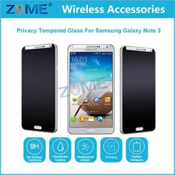 Made In China Cell Phone For Otao Privacy Anti-Spy Tempered Glass Screen Protector For Samsung Galaxy Note 3
