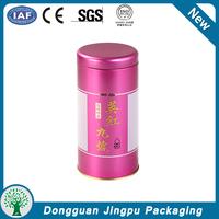 custom design empty tea tin can