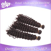 100% virgin extension human indian remy romance curl hair