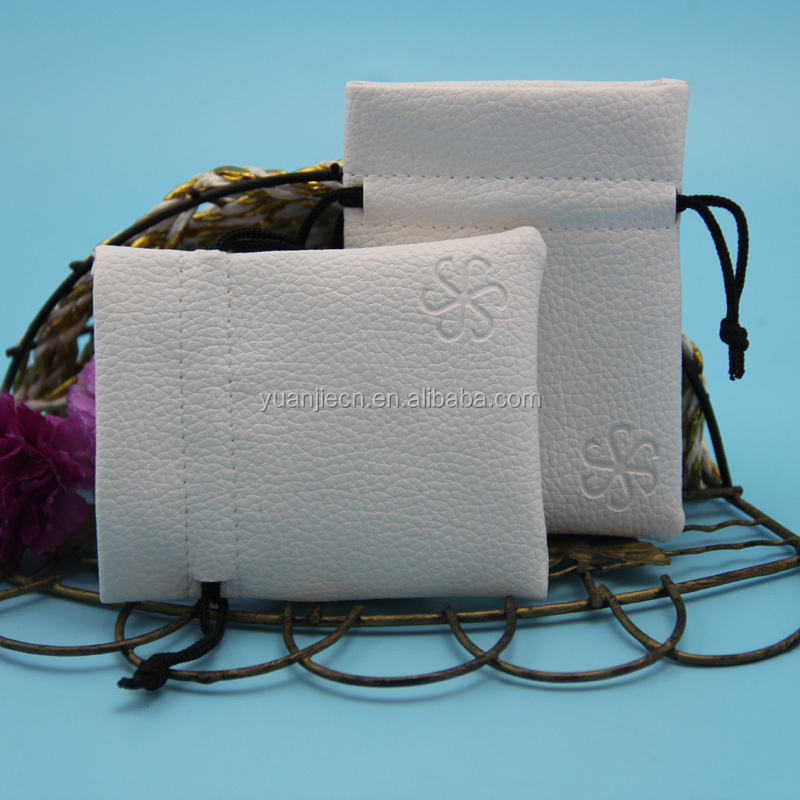 High quality small microfiber leather pouch