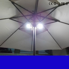 2.7m 8800mah US solar umbrella charger remote beach power source for ipad