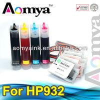 China Aomya bulk ink system, ink continuous system for hp deskjet printers