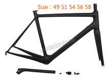 Chinese full carhon Road bike frame racing bicycle frame carbon with inner cable routing