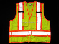 High-Visibility Reflective Safety Vest For Man