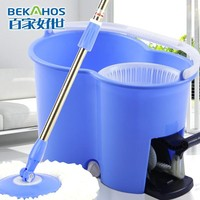 Best MagiceSpin Mop The Orignal & Patented Spin & Go Pro Mop - 360 Degree Spinning Mop & Bucket