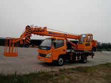 7 tons conventional hydraulic mobile truck crane for sale