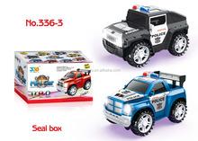 Hotsale ! wheel universal patrol car 2 colors. car toy
