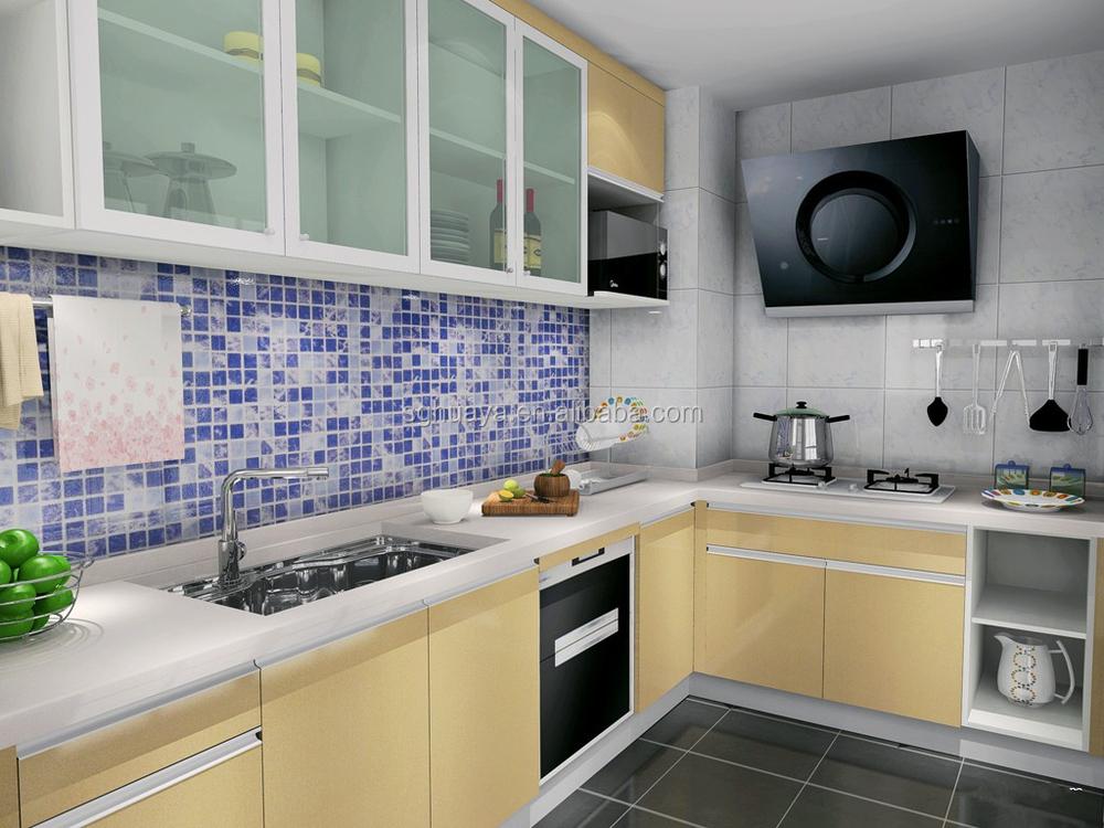 2014 date aluminium armoires de cuisine mod le haute - Modele de cuisine simple ...
