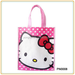 Fashion Recyclable Non Woven Folding Shopping bag Foldable Shopping Bag