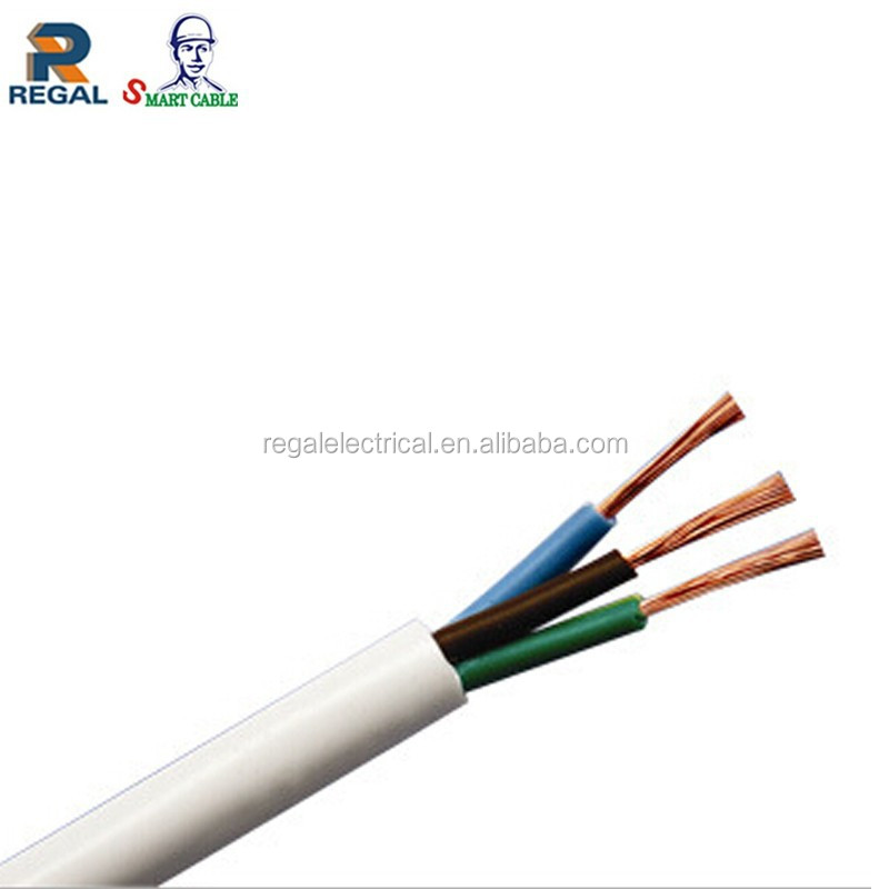 Flex Pvc Insulated Cable : Bs standard pvc insulated sheath core flexible