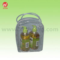 Promotional Newest Transparent Mini PVC Cosmetic Packaging Bag