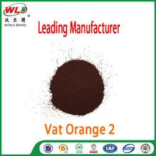C.I.Vat Orange 2 fabric dye powder