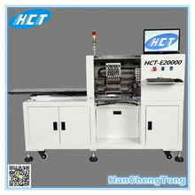 HCT-E20000 6 heads dedicated pick n place machine apply to led PCB
