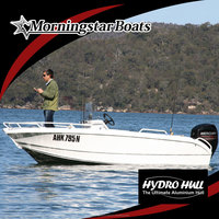 17ft aluminium bass fishing boat