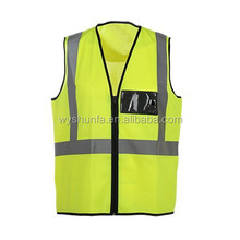 CE EN ISO 20471:2013 norm ANSI test reflective vest with pocket,traffic vest safety vest