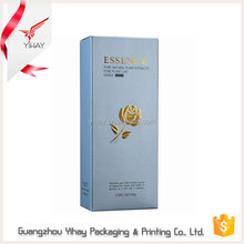 Wholesale high quality accept custom printing 300 gsm paper box packaging, gift paper box for skin care products