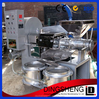 Cold press spiral soybean oil expeller machine from manufacturer in Henan