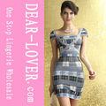 nueva llegada del cuello de la celebridad vendaje 2014 vestido