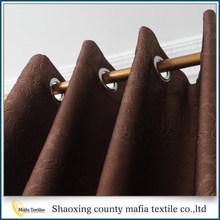 Comercio garantía el último diseño cortinas de poliéster a dormitorio moderno