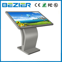 china kiosk manufacturer 32 touch screen monitor, indoor digital display board