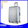 New arrival high quality ABS sky travel luggage fashion designers luggage and bags