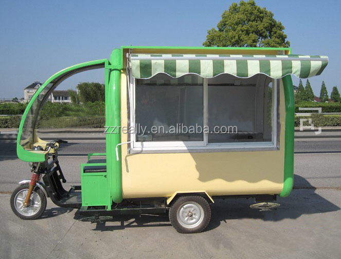 Electric street food vending cart for sale specialized for Motorized carts for sale