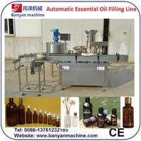 YB-Y2 Fully automatic essential oil glass dropper bottle filling cap closing machine