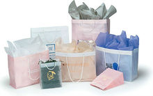 Clear and Pastel Rope Handle Fashion Tote