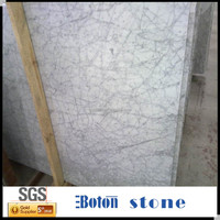 Wholesale natural stone polished white marble tile,factory produced white marble floor for sale