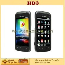 (HD3) 4 inch Android 2.3.4 Smartphone GPS,TV,WIFI,Bluetooth Dual Sim Android Phone
