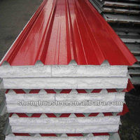 Yiwu Iron Factory EPS Raw Material Sandwich Roof Panel