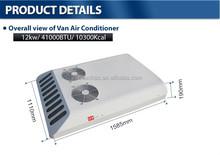 12V Van roof mount air conditioning equipment for minibus, van