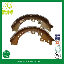 high performance Japan auto spare parts k6664 MB238114 for Mitsubishi Mazda rear cast iron brake shoes