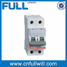 best price of China ISO 9001 CE DX-2P-N 2pole mini circuit breaker