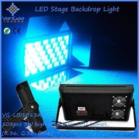 108 pcs 3w high brightness led wall wash stage light for studio/concert/theater