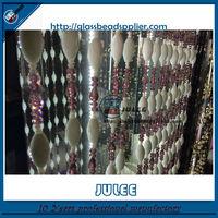 Yiwu glass crystal shower curtain