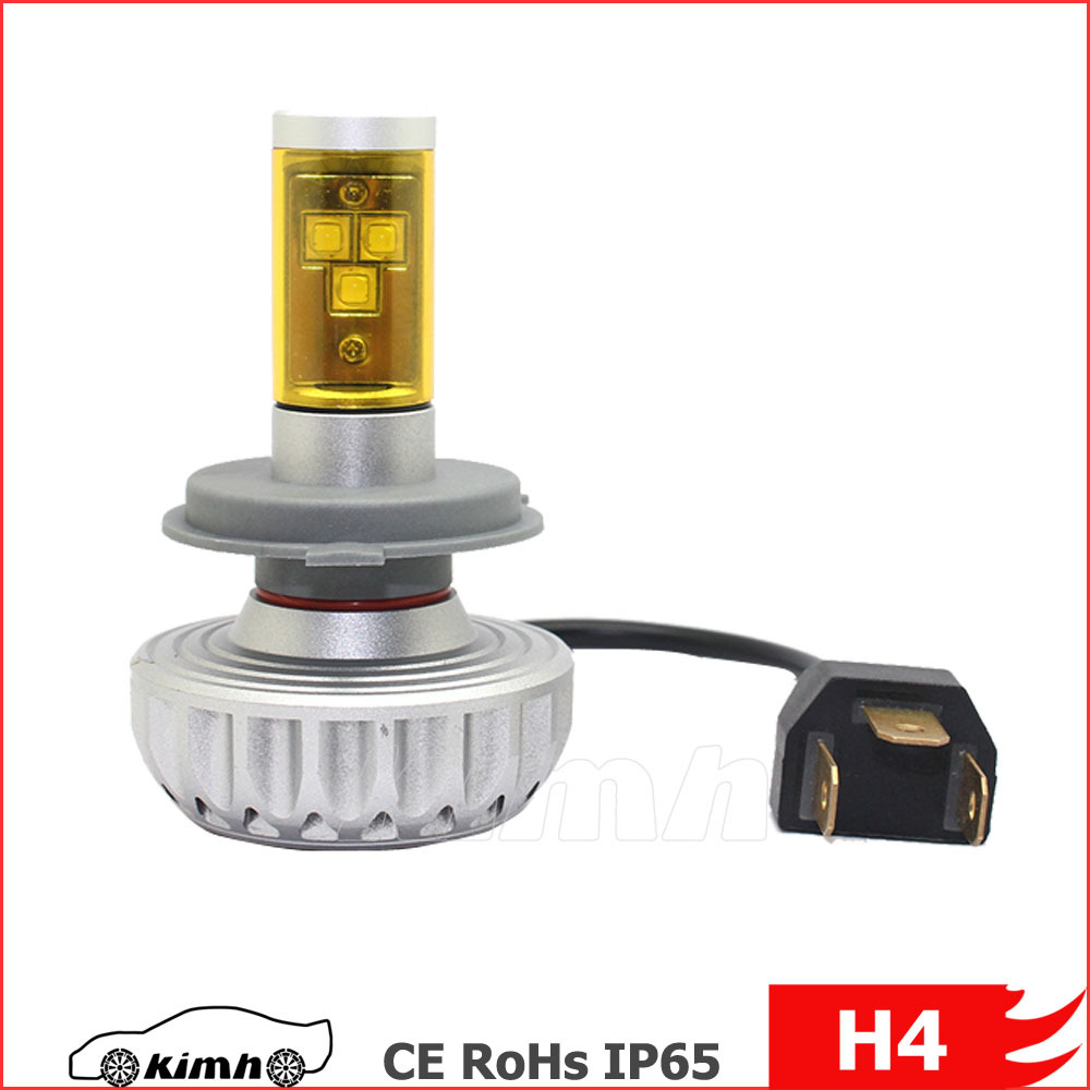 High power DIY 5 Color Temperature 3S Auto car led motorcycle headlight